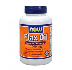 NOW - Flax Oil 1000mg. / 100 Softgels