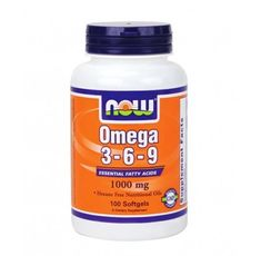 NOW - Omega 3-6-9 1000mg. / 100 Softgels