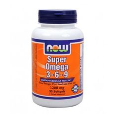 NOW - Super Omega 3-6-9 1200mg. / 90 Softgels