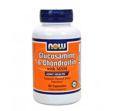 NOW - Glucosamine & Chondroitin with MSM / 90 Caps.