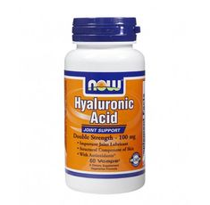 NOW - Hyaluronic Acid with MSM / 60 Caps.