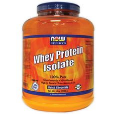 NOW - Whey Protein Isolate / 2268 gr