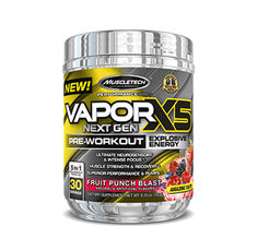 MUSCLETECH Vapor X5 Next Gen Pre-Workout / 30 Serv.​
