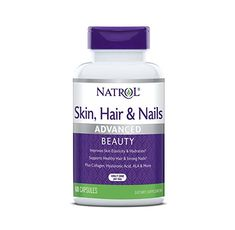 Natrol Skin Hair Nails + Collagen / 60 капсули