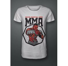 Тениска - ММА - Mixed Martial Arts (red)​