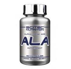 SCITEC ALA - Alpha-Lipoic Acid 250 mg. / 50 Caps.​