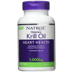 Natrol - Omega-3 Krill Oil 1000 mg. / 30 softgel