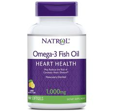 Natrol - Omega-3 Fish Oil 1000mg. / 90 softgel