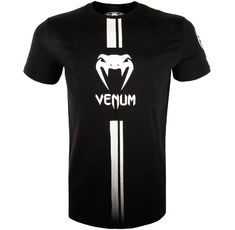 Тениска - Venum Logos T-Shirt - Black/White​