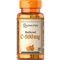 Puritan's Pride - Buffered Vitamin C-500 mg / 100 таблетки​