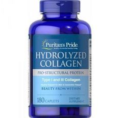 Puritan's Pride - Hydrolyzed Collagen / 1000mg - 180 caps​