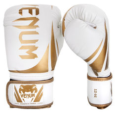 Боксови ръкавици - Venum Challenger 2.0 Boxing Gloves - White/Gold