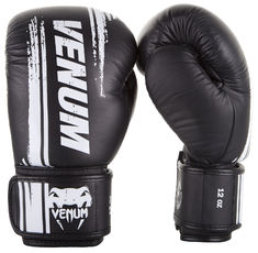 Боксови ръкавици - Venum Bangkok Spirit Boxing Gloves - Nappa leather - Black