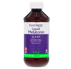 Natrol Melatonin 2.5mg - Liquid / 237ml.