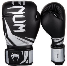 Боксови ръкавици - Venum Challenger 3.0 Boxing Gloves - Black/Silver