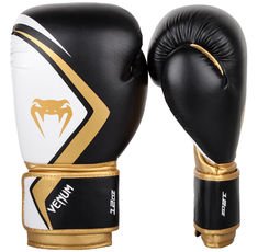 Боксови Ръкавици - Venum Boxing Gloves Contender 2.0 - Black/White-Gold​
