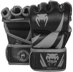 ММА ръкавици - Venum Challenger MMA Gloves - Black/Grey​