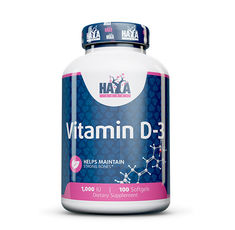 Haya Labs - Vitamin D-3 / 1000 IU / 100 Softgels