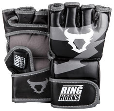 ММА Ръкавици - Ringhorns Charger MMA Gloves - Black