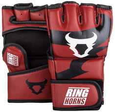ММА Ръкавици - Ringhorns Charger MMA Gloves - Red