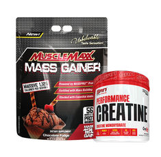 STACK Маса - AllMax - Muscle Maxx Gainer / 5450gr. + SAN - Performance Creatine /   600 gr​