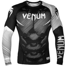 Рашгард - Venum NoGi 2.0 Rashguard - Long Sleeves - Black/White​