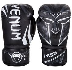 Боксови ръкавици - Venum Gladiator 3.0 Boxing Gloves - Black/White