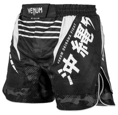 Шорти - Venum Okinawa 2.0 Fightshorts - Black/White