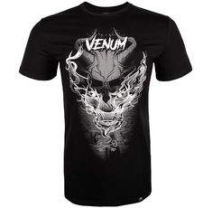 Тениска - Venum Minotaur T-Shirt - Black / White