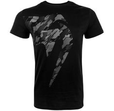 Тениска - Venum Tecmo Giant T-shirt - Black/Grey