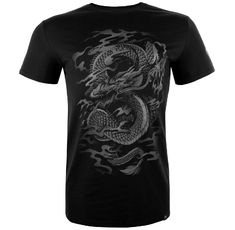 Тениска - Venum Dragon's Flight T-shirt - Black/Black