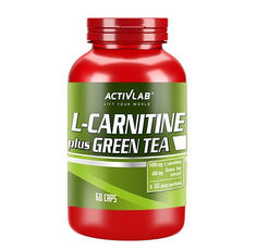 Activlab -  L-Carnitine Plus Green Tea / 60caps.