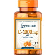 Puritan's Pride - Vitamin C-1000 mg / 100 таблетки​