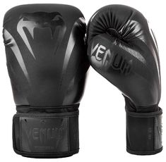 Боксови Ръкавици - Venum Impact Boxing Gloves - Black/Black​