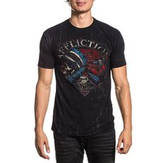 Affliction - Hacked / Black