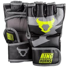ММА Ръкавици - Ringhorns Charger MMA Gloves -Black/Neo Yellow