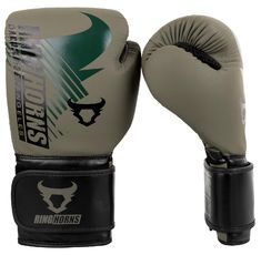 Боксови Ръкавици - Ringhorns Charger MX Boxing Gloves - Khaki/Black
