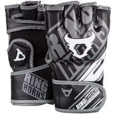 ММА Ръкавици - Ringhorns Nitro MMA Gloves - Black