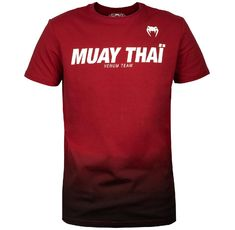 Тениска - Venum Muay Thai VT T-shirt - Red