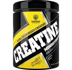SWEDISH Supplements - Creatine Monohydrate / Extra Micronized