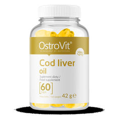 OstroVit - Cod Liver Oil​ / 60softgels