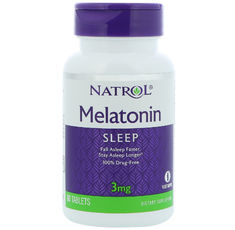 Natrol - Melatonin 3mg / 60 tab