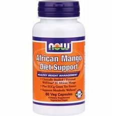 NOW - African Mango Diet Support / 60 Vcaps.
