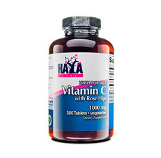 Haya Labs - Buffered Vitamin C 500mg with Bioflavonoids / 60 caps