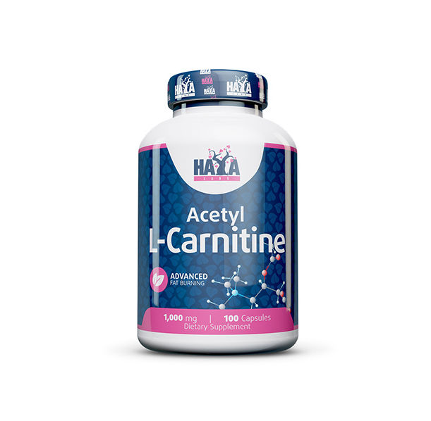 Haya Labs - Acetyl L-Carnitine 1000mg. / 100 Caps.