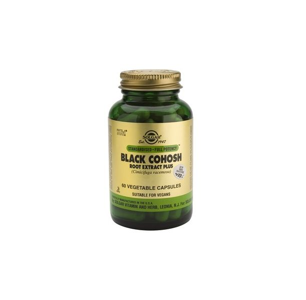 Solgar - Black Cohosh Root Extract Plus / 60 caps.​