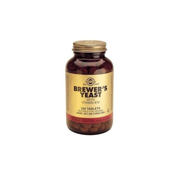 Solgar - Brewers Yeast / 250 tabs.​
