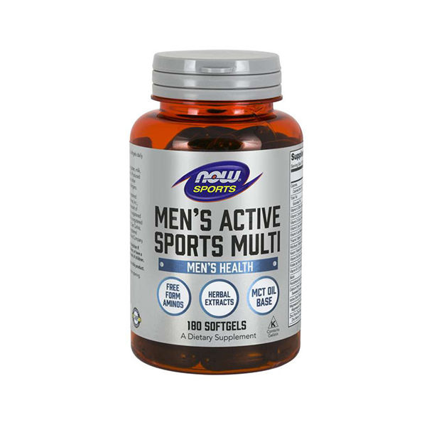 NOW - Men's Active Sports Multi / 180 softgels.