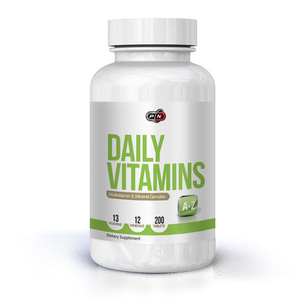 Pure Nutrition - Daily Vits / 200tabs.