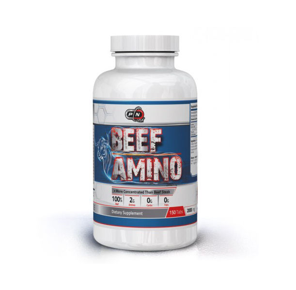 Pure Nutrition - Beef Amino 2000mg. / 150 tabs.